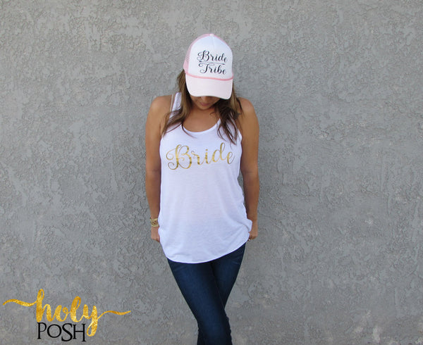 Bride Tank Top- Bride Shirt- Wifey Tank- Bride Gift- Mrs. Tank- Bride To Be- Bacheloretty Party- Bridal Party- Wedding Day- Bride Shirt-
