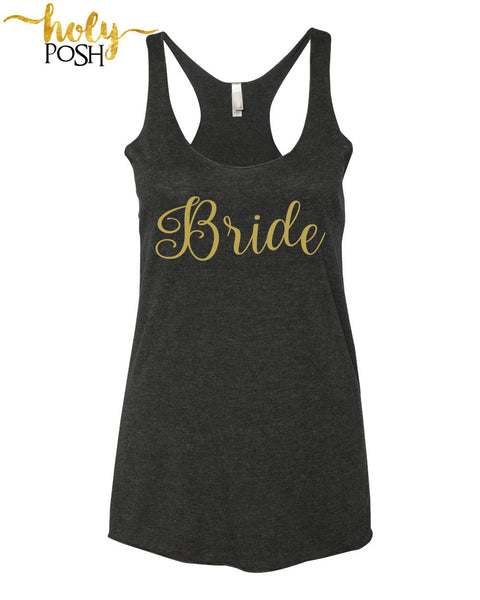 Bride Tank- Bride Tribe Tank Top- Bridal Party Shirt- Bachelorette Party- Brunch Tank- Bridesmaid Tank- Wedding Tank Tops. Bridal Shirts