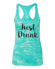 Just Drunk Bridesmaid Tank Top- Bride Tank- Bachelorette Party- Drunk In Love- Bridal Party- Champs- Mimosas- Bride Squad- Day Drinking Shirt