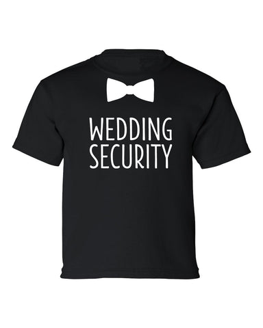 Wedding Security Shirt- Wedding Day- Boys T-shirt- Ring Security- Bridal Rehearsal Tee- Wedding Shirt- Ring Holder- Wedding Party- Holy Posh