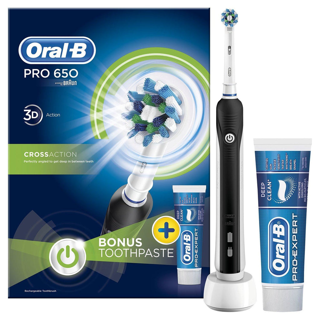 MegaHealthMart Presents: Oral-B Pro 650