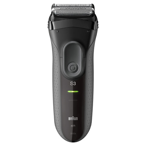 Braun Series 3 ProSkin 3000s Rechargeable Electric Shaver black - Personal Grooming