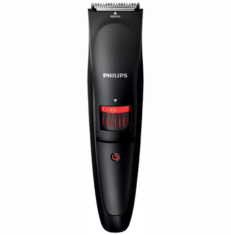 Philips Series 1000 Mens Beard Trimmer 0.5-10mm Shaver Cordless - Black BT405/13 - Personal Grooming