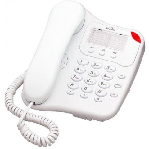 Binatone Lyris 110 Corded Home Desk Phone - White - Walkie Talkies & Phones