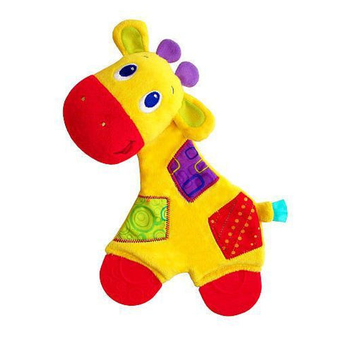 Bright Starts Snuggle and Teethe Giraffe Baby Teething Toy - Mother Baby & Kids