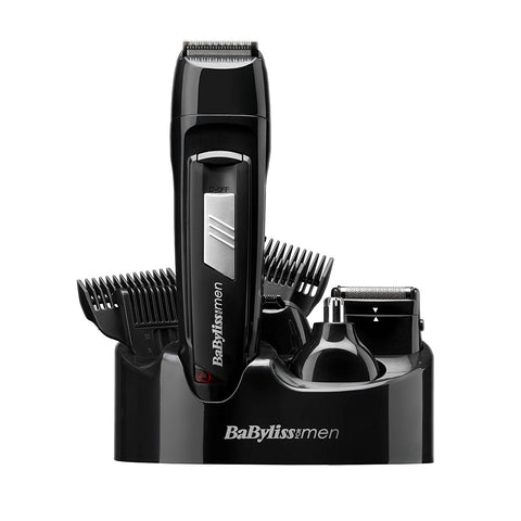 Babyliss 7056CU Cordless Rechargeable 8-in-1 All Over Grooming Kit