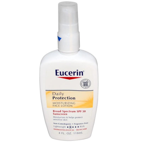 Eucerin Daily Protection Face Lotion SPF 30 4 oz - Skincare