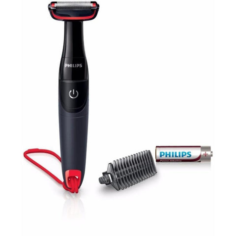 Philips Series 1000 BodyGroom Battery Cordless Body Hair Shaver Trimmer - BG105 - Personal Grooming