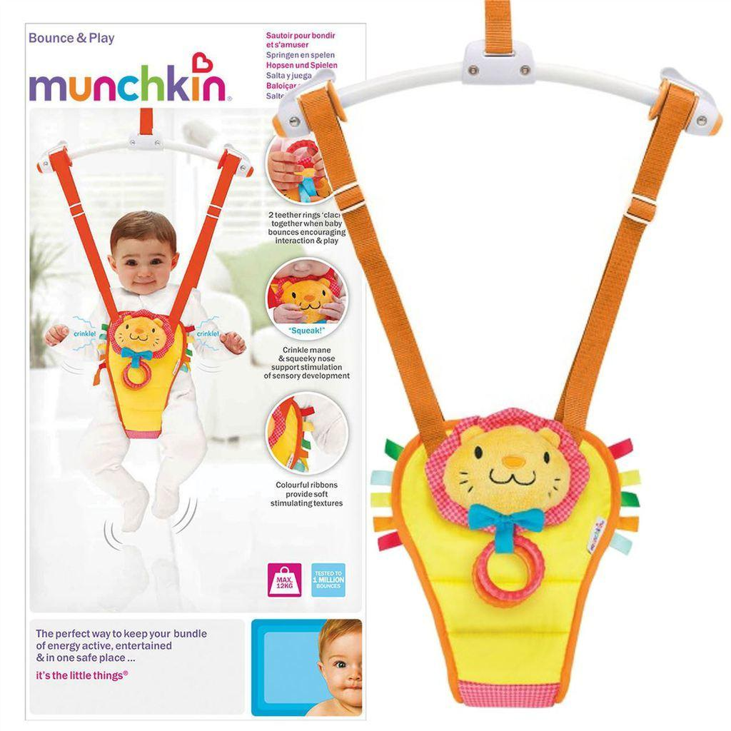 167db6f1239 Munchkin Bounce About Play Baby Toddler Adjustable Padded Door Bouncer NEW