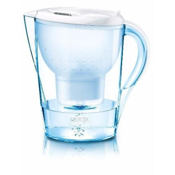 BRITA Colour XL 3.5L Edition Marella Water Filter Jug + 1 Maxtra Cartridge (White) - Water Filters