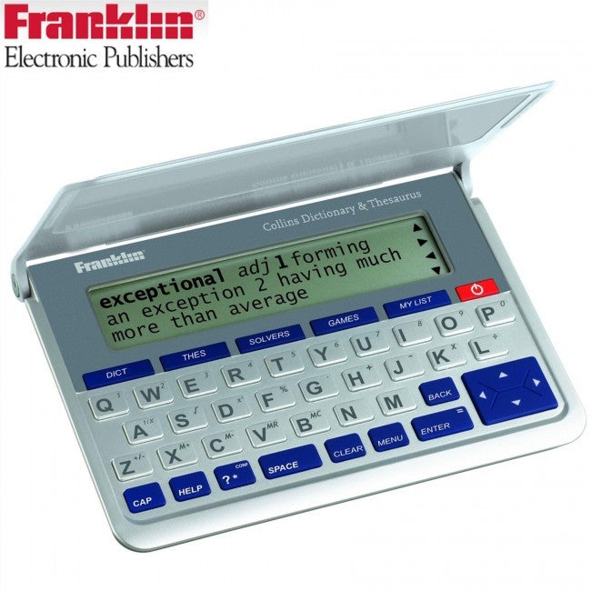 Franklin DMQ 570 Pocket Collins Dictionary and Thesaurus - Home & Living