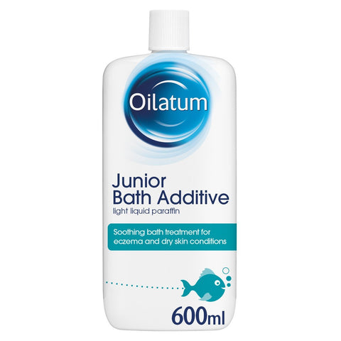 Oilatum Junior Eczema and Dry Skin Emollient Bath Additive, 600 ml
