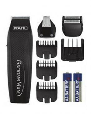 Wahl 5537-3016 Groomsman All-in-One Battery Grooming Kit Groomsman
