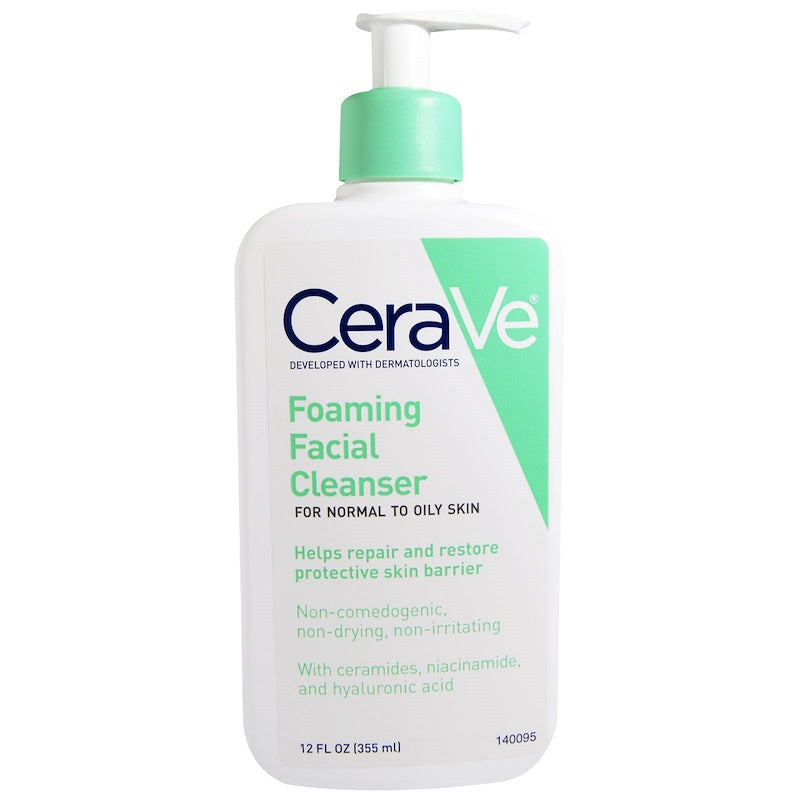 Cerave Foaming Facial Cleanser 12 fl oz (355 ml) - Skincare