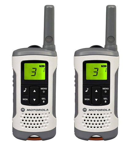 Motorola TLKR T50 Two-Way Radio - White (Export Sets Only) - Walkie Talkies & Phones