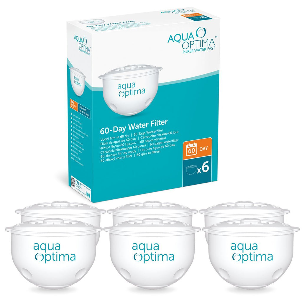 Aqua Optima Original 12 Month Pack, 6 x 60 Day Water Filters - SWP336  - Water Filters
