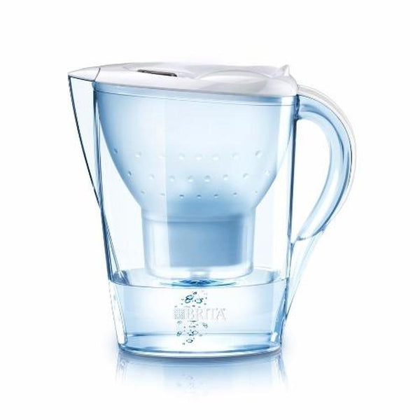 Brita Marella 2.4L Water Filter Jug with 12 Maxtra (White) - Water Filters