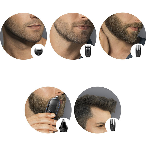 Braun Multi Grooming Kit MGK3020 ? 6-in-1 Hair / Beard Trimmer for Men, Face and Head Trimming - Personal Grooming