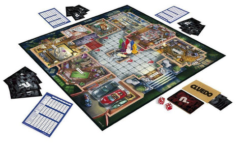 Hasbro Cluedo Family Fun Classic Mystery Complete Board Game with 2 Player Mode - Toys