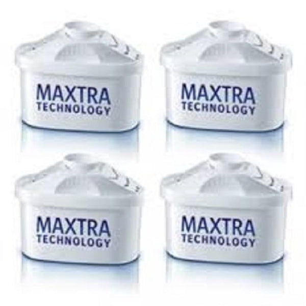 Brita Maxtra New Water Filter Jug Refills Genuine Replacement Cartridges (4 Counts) - Water Filters