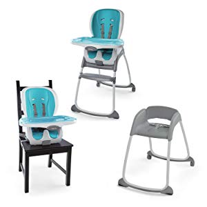 Trio 3-in-1 SmartClean High Chair? - Aqua -