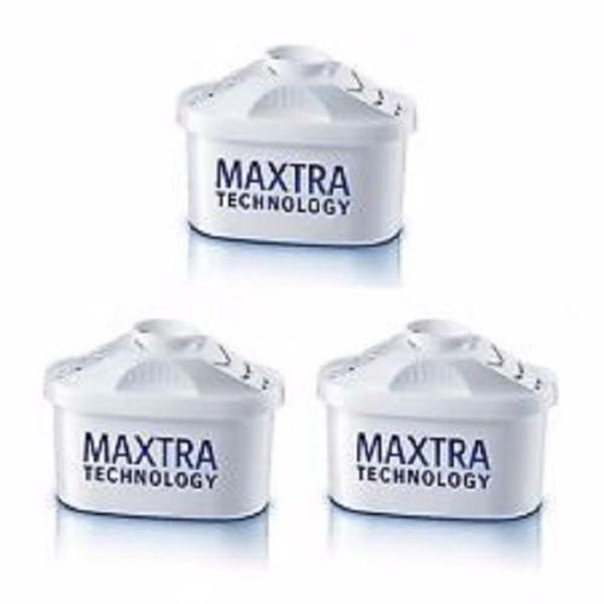 Brita Maxtra Water Filter Jug Refills Genuine Replacement Cartridges (3 Counts) - Water Filters