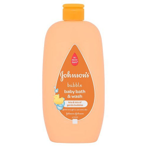 Johnson's Bubble Baby Bath and Wash 500ml - Mother Baby & Kids