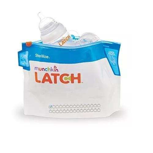 Munchkin Latch Steriliser Bags (Pack of 6) - Mother Baby & Kids