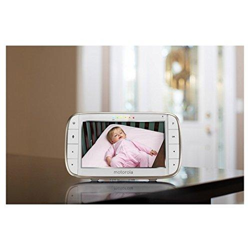Motorola MBP855 Connect Wi-Fi HD Video Baby Monitor - Mother Baby & Kids