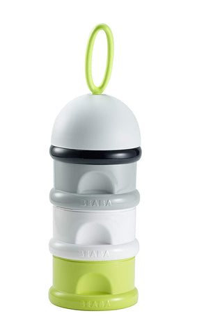 Beaba Container for Formula Milk Doses/Snacks (Neon) - Mother Baby & Kids