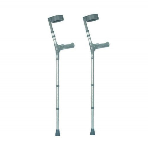 Ability Superstore Coopers Adjustable Elbow Crutches with Comfy Handle 680-935mm - Healthcare