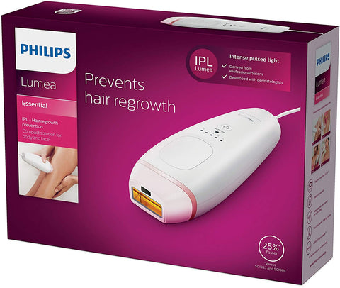 Philips Lumea Essential IPL Hair Removal Device for Body - BRI861/00