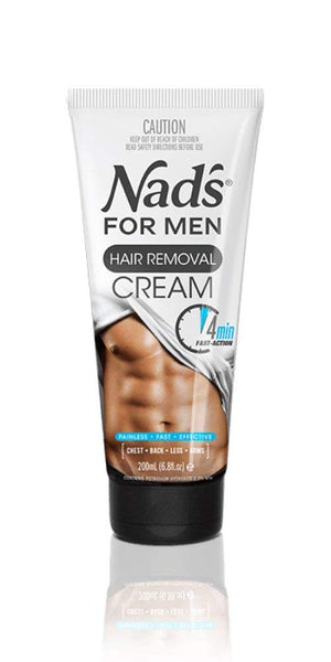 Nad's For Men Hair Removal Cream 200 ml - Personal Grooming
