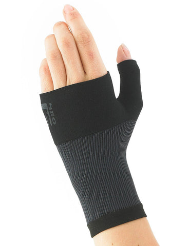 NEO G Airflow Wrist and Thumb Support - Medium - Black, Unisex Brace