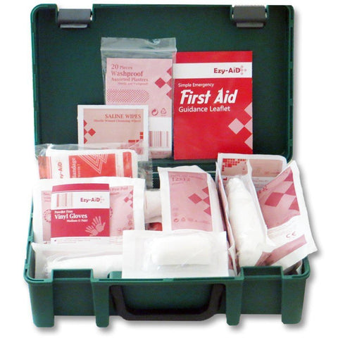 Ezy-Aid HSE Compliant Home, Travel and Workplace First Aid Kit for 1 - 10 Persons - Healthcare
