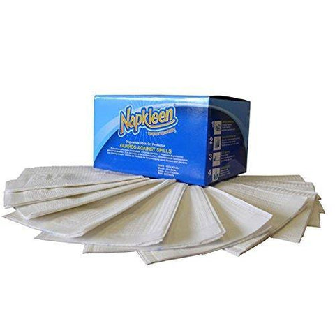 Ability Superstore Napkleen 250 Clothing Protector - Pack of 5 - Healthcare