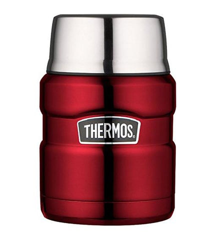 Thermos Stainless King Food Flask 470ml (Red) - Home & Living