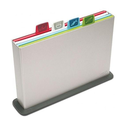 Joseph Joseph Index Chopping Board Set - Large (Silver) - Home & Living