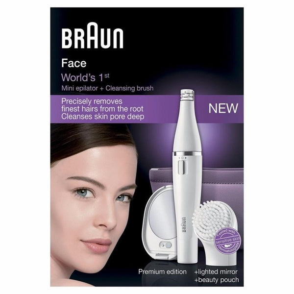 Braun Face 830 Facial Epilator and Cleansing Brush - Personal Grooming