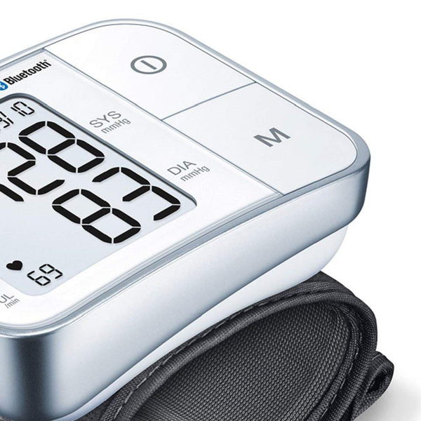 Beurer BC57 Bluetooth Wrist Blood Pressure Monitor - Healthcare