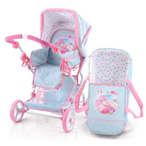 Hauck D86687 - Princess Mimi COMBI Doll Stroller Light Blue
