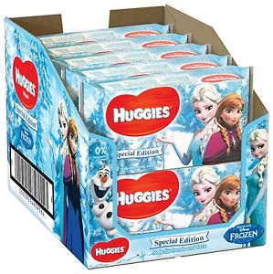 Huggies Baby Wipes Special Edition Disney Characters - Pack of 10 (Packaging May Vary) - Mother Baby & Kids