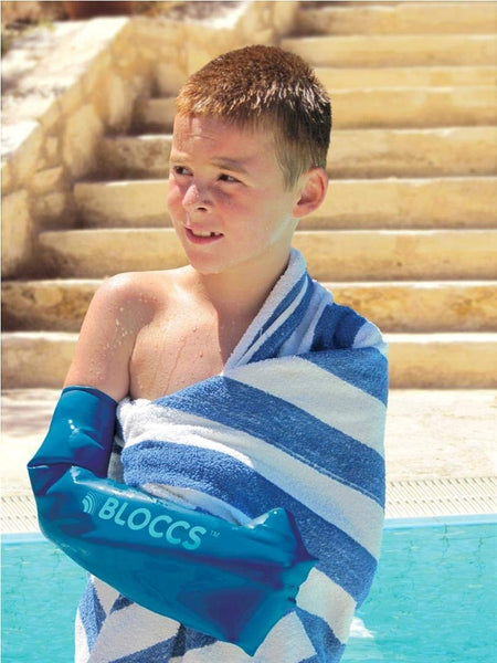 Bloccs Child Full Arm Waterproof Cast Cover 8-10 yrs old - Healthcare