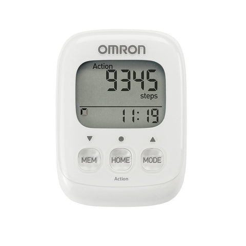 Omron Walking Style IV Pedometer (White) - Healthcare