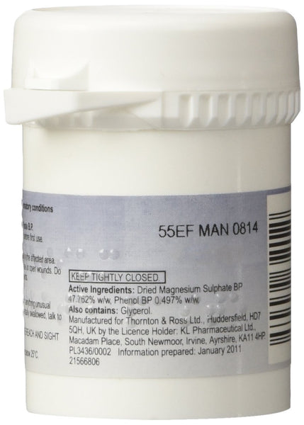 Care Magnesium Sulphate Paste BP, 50g - Skincare