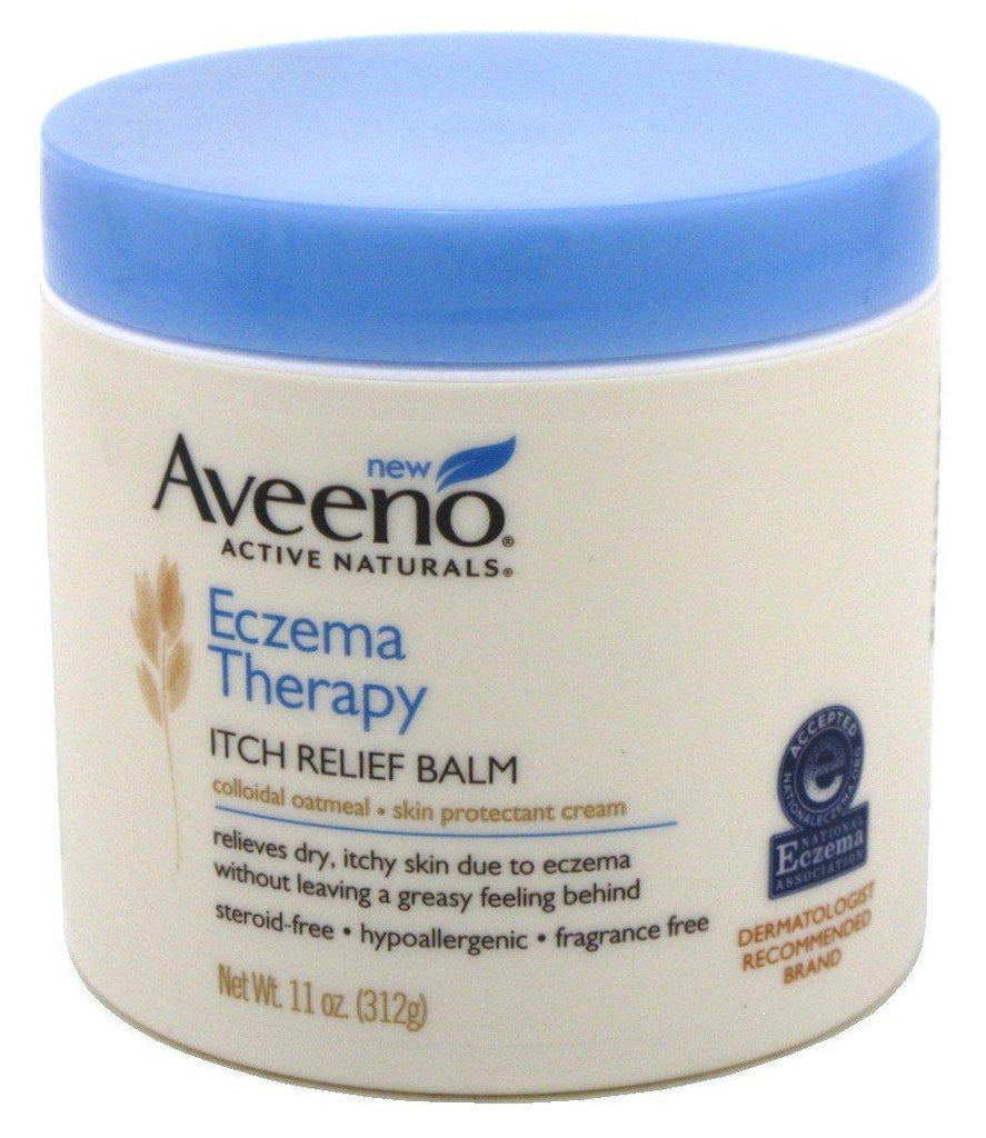 Aveeno Active Naturals Eczema Therapy Itch Relief balm - Jar - Skincare
