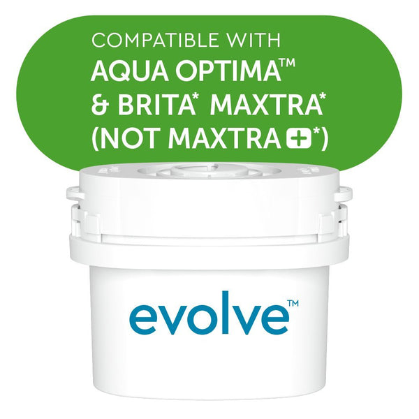 Aqua Optima Evolve 12 Month Pack, 6 x 60 Day Water Filters - Water Filters