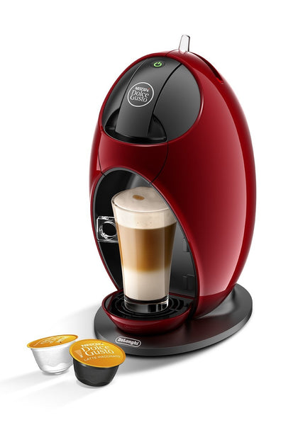 NESCAFE Dolce Gusto Jovia Manual Coffee Machine by DeLonghi (Red) - Home & Living