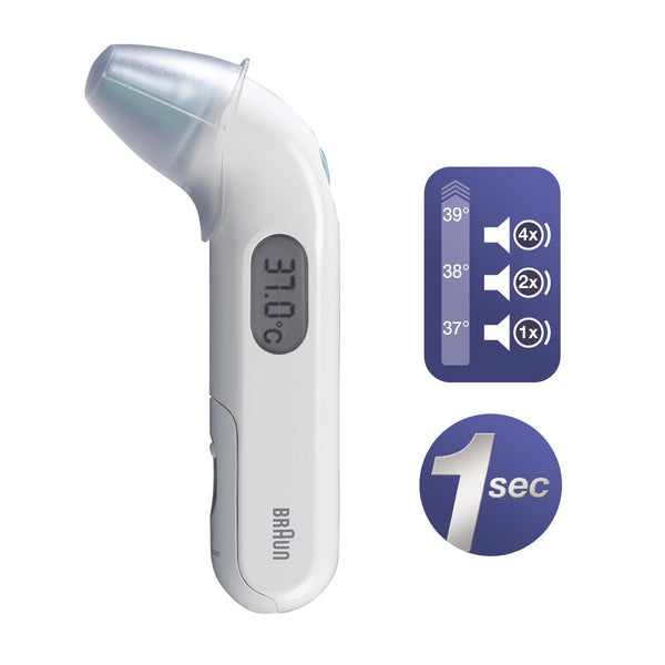 Braun IRT3030 ThermoScan 3 Infrared Ear Thermometer - Personal Grooming