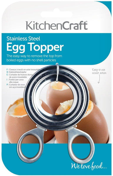 KitchenCraft Stainless Steel Egg Topper - Home & Living